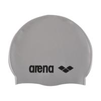 czepek_silikonowy_arena_classic_silicone_silver_black_na_basen_do_pływania
